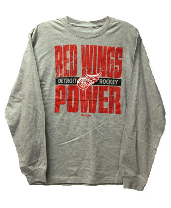 DETROIT RED WINGS YTH BIG BLOCK TEE. Found in Clothing > T-Shirts