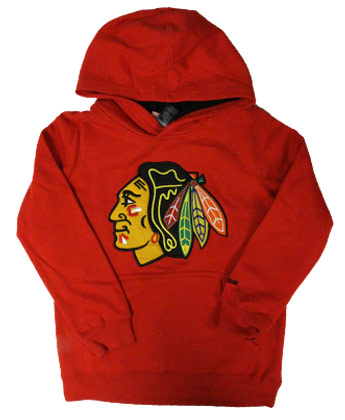 CHICAGO BLACKHAWKS CHILDS PRIME HOODIE. Found in Clothing > Fleece