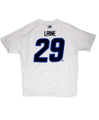 63dfbfd611a Winnipeg Jets LAINE N N WHITE OUT TEE found in NHL   Clothing   T ...