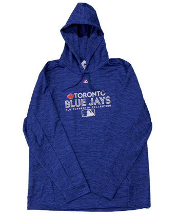 Toronto Blue Jays TEAM DRIVE FLEECE PULLOVER. Found in Clothing > Fleece