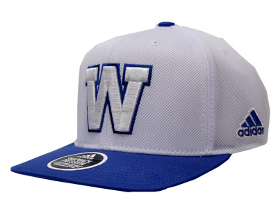 Winnipeg Blue Bombers WHITE CROWN SNAP. Found in Clothing > Hats