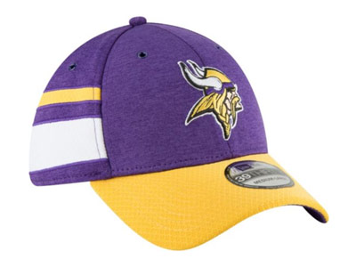 MINNESOTA VIKINGS 3930 SIDELINE HAT. Found in Clothing > Hats