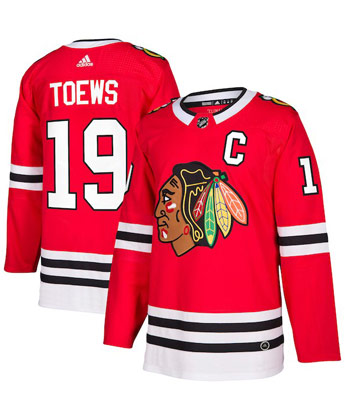 CHICAGO BLACKHAWKS TOEWS ADI ZERO JERSEY. Found in Jerseys > Customizng