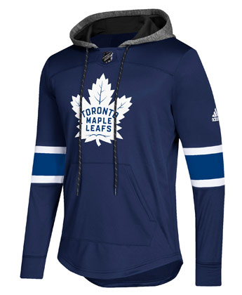 TORONTO MAPLE LEAFS SKATE LACE HOODIE. Found in Clothing > Fleece