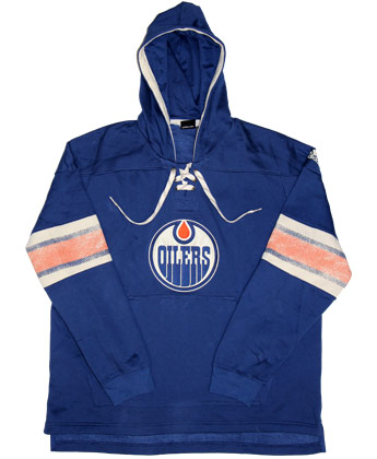 huge discount c8d55 dca1b EDMONTON OILERS JERSEY HOOD found in NHL > Clothing > Fleece ...