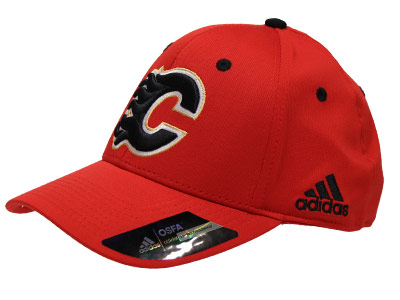 CALGARY FLAMES STRUCTURE ADJUST. Found in Clothing > Hats