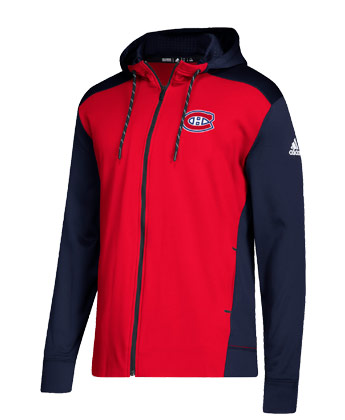 MONTREAL CANADIENS F/Z 2018 ADIDAS HOOD. Found in Clothing > Fleece