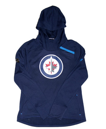 Winnipeg Jets WOMENS RINKSIDE HOODIE. Found in Clothing > Fleece