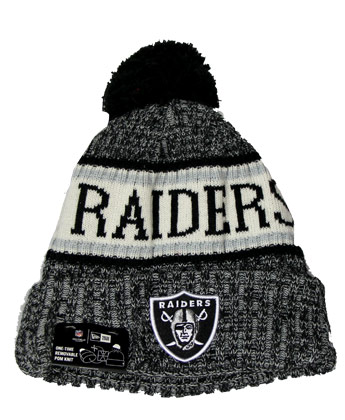 OAKLAND RAIDERS 18 SPORT KNIT. Found in Clothing > Hats