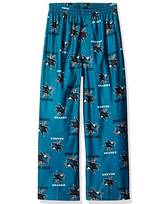 SAN JOSE SHARKS YTH PRINTED PANTS. Found in Clothing > Pants