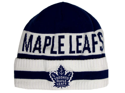 TORONTO MAPLE LEAFS CUFFED TOQ ICONIC. Found in Clothing > Hats
