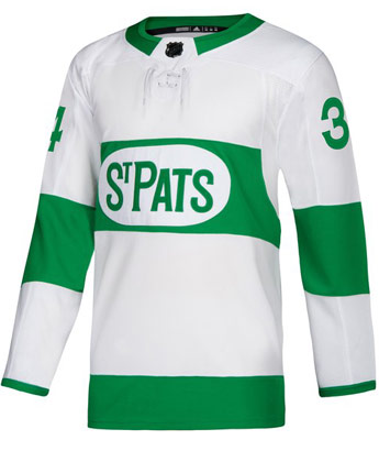 TORONTO MAPLE LEAFS MATHEWS ADIZERO ST PATS JERSEY. Found in Jerseys > Authentic