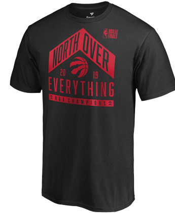 TORONTO RAPTORS NORTH OVER EVERYTHING. Found in Clothing > T-Shirts