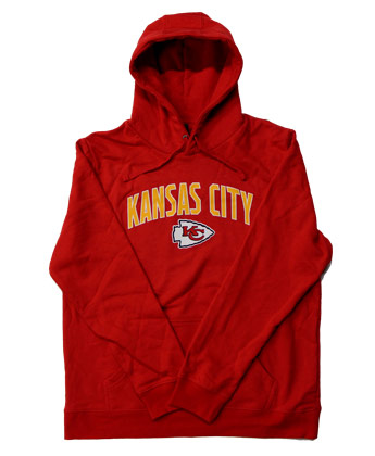 KANSAS CITY CHIEFS ENGAGE HOODIE. Found in Clothing > Fleece