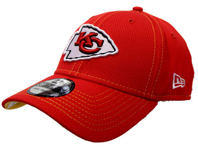 KANSAS CITY CHIEFS  3930 SIDELINE HAT. Found in Clothing > Hats