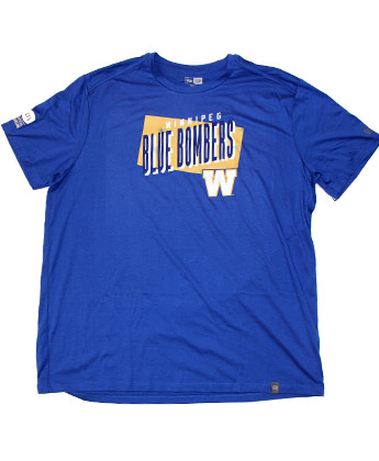 Winnipeg Blue Bombers SIDELINE SHOUT TEE. Found in Clothing > T-Shirts
