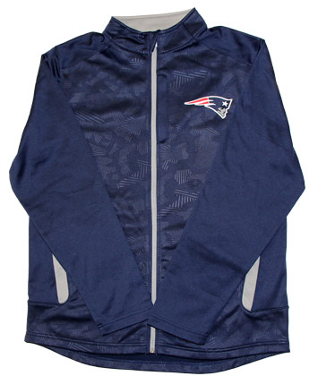 NEW ENGLAND PATRIOTS MISSION ZIP. Found in Clothing > Fleece