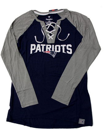 NEW ENGLAND PATRIOTS LDS BREAKOUT TEE. Found in Clothing > T-Shirts