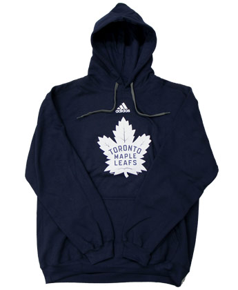 TORONTO MAPLE LEAFS ADIDAS PULLOVER HOOD. Found in Clothing > Fleece