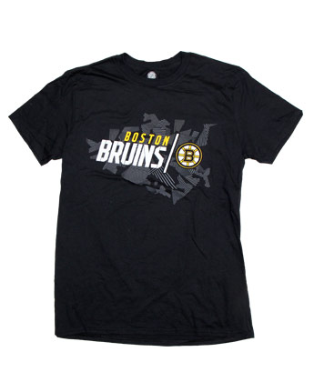 BOSTON BRUINS GEO DRIFT TEE. Found in Clothing > T-Shirts