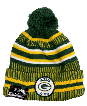 GREEN BAY PACKERS SIDELINE SPORTSKNIT. Found in Clothing > Hats