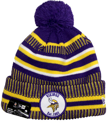 MINNESOTA VIKINGS SIDELINE SPORTKNIT. Found in Clothing > Hats