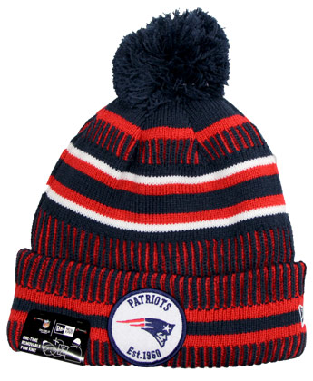 NEW ENGLAND PATRIOTS SIDELINE SPORTSKNIT. Found in Clothing > Hats