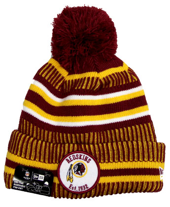 WASHINGTON REDSKINS SIDELINE SPORT KNIT. Found in Clothing > Hats