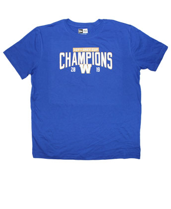 Winnipeg Blue Bombers CHAMPS ARC NEWERA TEE. Found in Clothing > T-Shirts