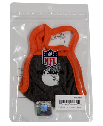 Cleveland Browns NEW ERA FACE MASK. Found in Clothing > Accessorie