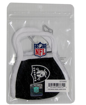 OAKLAND RAIDERS NEW ERA FACE MASK. Found in Clothing > Accessorie