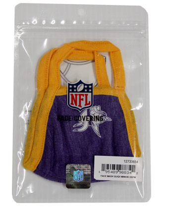 MINNESOTA VIKINGS NEW ERA FACE MASK. Found in Clothing > Accessorie