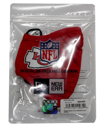 KANSAS CITY CHIEFS SIDELINE MASK. Found in Clothing > Accessorie