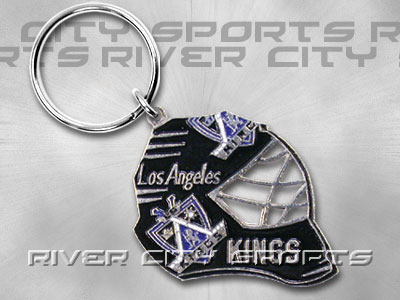 LOS ANGELES KINGS Goalie Mask Keychain. Found in Souvenirs > Keychains