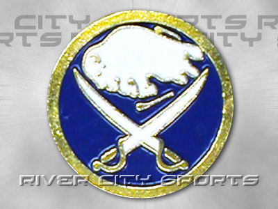 BUFFALO SABRES Logo Pin [Old Style Logo]. Found in Souvenirs > Pins