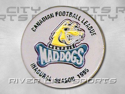 Memphis Mad Dogs Inagural Pin. Found in Souvenirs > Pins