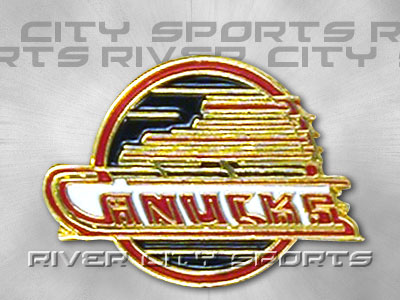 Vancouver Canucks Logo Pin Old Style Logo Found In Nhl Souvenirs Pins River City Sports