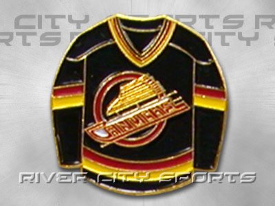 new product 22310 03141 VANCOUVER CANUCKS Sweater Pin found in NHL > Souvenirs ...