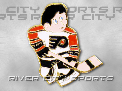PHILADELPHIA FLYERS MINI PLAYER PIN. Found in Souvenirs > Pins