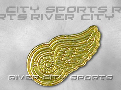 DETROIT RED WINGS Gold Logo Pin. Found in Souvenirs > Pins