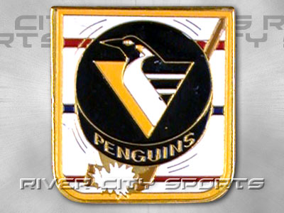 PITTSBURGH PENGUINS Puck Pin. Found in Souvenirs > Pins