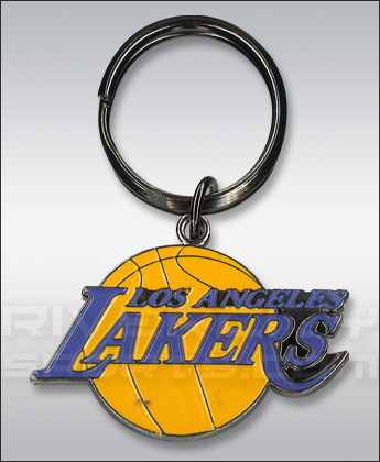 Los Angeles Lakers LOGO KEYCHAIN. Found in Souvenirs > Keychains