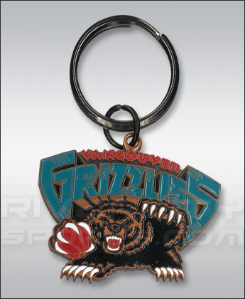 Vancouver Grizzlies Logo Keychain. Found in Souvenirs > Keychains