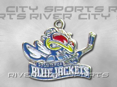 COLUMBUS BLUE JACKETS Charm. Found in Souvenirs > Necklace