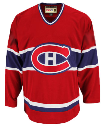 MONTREAL CANADIENS CCM 1993 CANADIENS REP JERSEY. Found in Jerseys > Semi-Pro