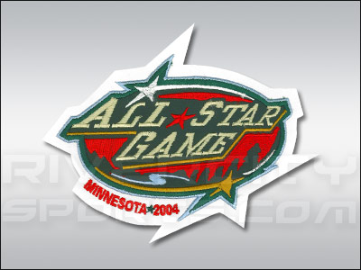 ALL STAR 2004 ALL STAR PATCH. Found in Jerseys > Patches
