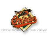 MLB LOGO PIN in BALTIMORE ORIOLES Found in: MLB > Baltimore Orioles > Souvenirs > Pins