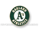 MLB LOGO PIN in OAKLAND A