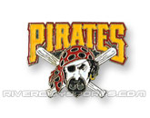 MLB LOGO PIN in PITTSBURGH PIRATES Found in: MLB > Pittsburgh Pirates > Souvenirs > Pins