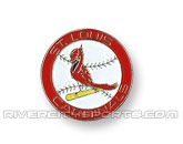 MLB LOGO PIN in ST. LOUIS CARDINALS Found in: MLB > St. Louis Cardinals > Souvenirs > Pins